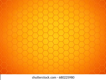Honeycomb pattern background - Vector