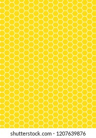 Honeycomb pattern vector background