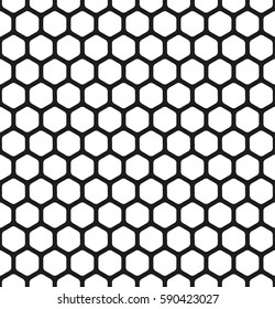 Honeycomb pattern. Vector background