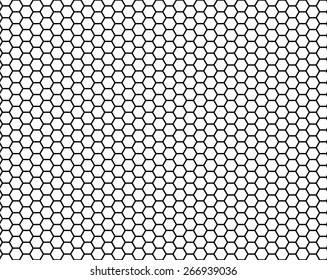 honeycomb seamless pattern, vector illustration