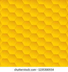 Honeycomb vector background design