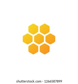 Honeycomb vector icon