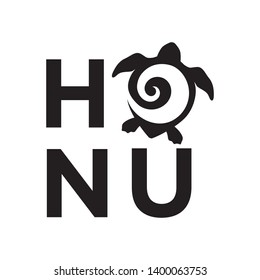 Honu, Maory word and symbol for turtle