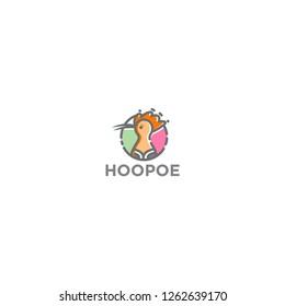 Hoopoe Logo Template