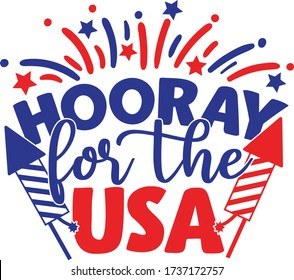 Hooray for the USA | 4th of July Quote