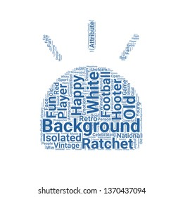hooter word cloud. tag cloud about hooter