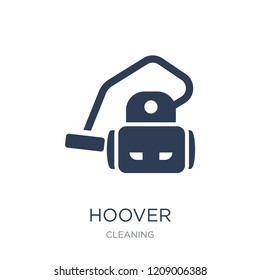 hoover icon. Trendy flat vector hoover icon on white background from Cleaning collection, vector illustration can be use for web and mobile, eps10