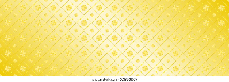 horizontal abstract elegant gold design for pattern and background,vector illustration.