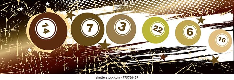 Horizontal bingo banner