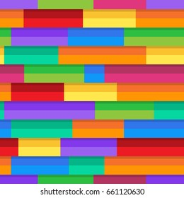 Horizontal pattern colorful stripe seampless abstract background vector.
