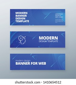 Horizontal sale banner background for social networks. Colorful halftone gradients. Background modern template design for web. Cool gradients. Future geometric patterns.