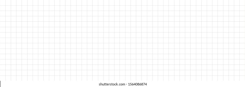 Horizontal vector editable mockup illustration. Grid paper used for notes or decoration.