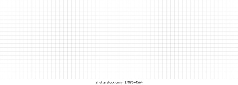 Horizontal vector editable mockup illustration. Grid paper used for notes or decoration. Horizontal.
