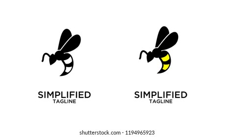 hornet logo icon designs vector