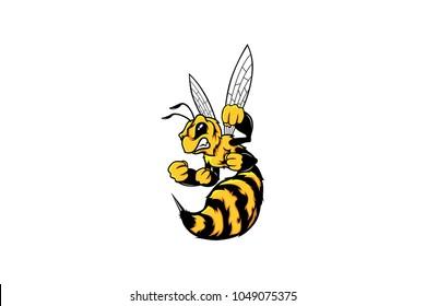 Hornet Mascot Design
