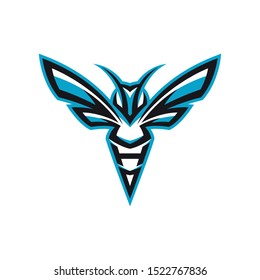 hornet/bee esport gaming mascot logo template