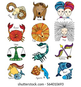 Horoscope collection - full horoscope collection