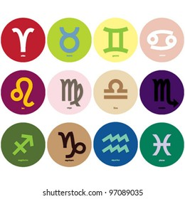 Horoscope Symbols Images, Stock Photos & Vectors | Shutterstock