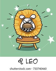 horoscope zodiac sign dog leo