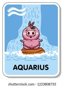 horoscope zodiac sign pig aquarius