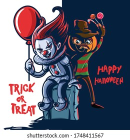 horror cartoon characters for halloween party