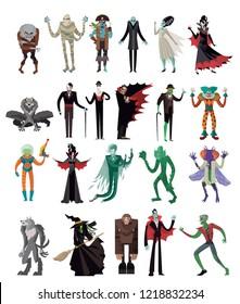 horror evil creatures
