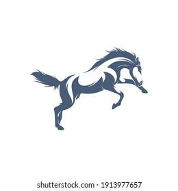 Horse design vector illustration, Creative horse logo template, icon symbol