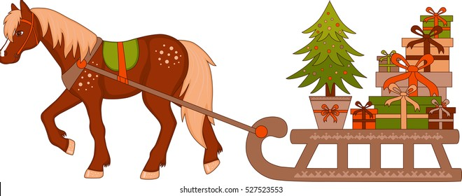 500 Horse With Sleigh Pictures Royalty Free Images Stock Photos