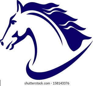 stylized horse head images stock photos vectors shutterstock rh shutterstock com horse head logo car horse head logo designs