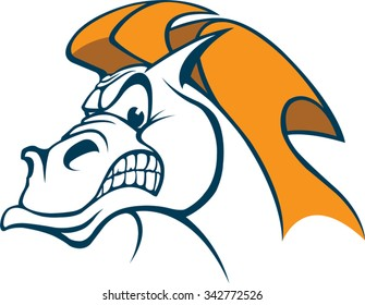 Horse Head A cartoon Horse Head. Vector file available.