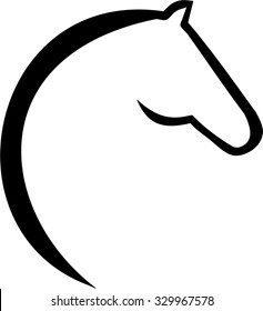 horse head silhouette images stock photos vectors shutterstock rh shutterstock com quarter horse head clip art horse head clipart face