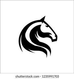 Stylized Head Horse Stock Vector Royalty Free 102961472 Shutterstock