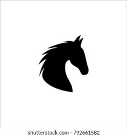 Horse Head Vector Icon Stock Vector Royalty Free 792661582