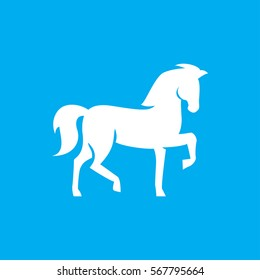 horse icon. illustration isolated vector sign symbol