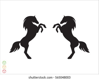 horse, icon, vector illustration eps10