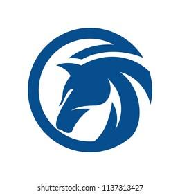 Horse, King Horse Logo Design Inspiration Vector