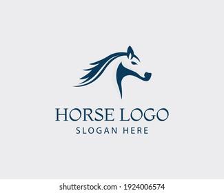 horse logo head horse logo vecktor art logo