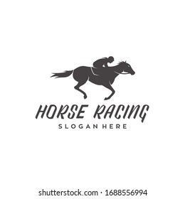 Horse Racing Logo Images Stock Photos Vectors Shutterstock