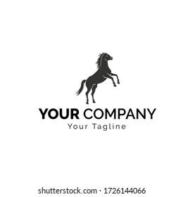 Horse logo / vector horse animal head logo