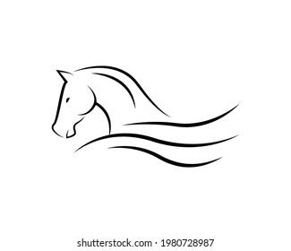 Horse logo, Vector mascot, Vector illustration icons and logo design elements - horse vector