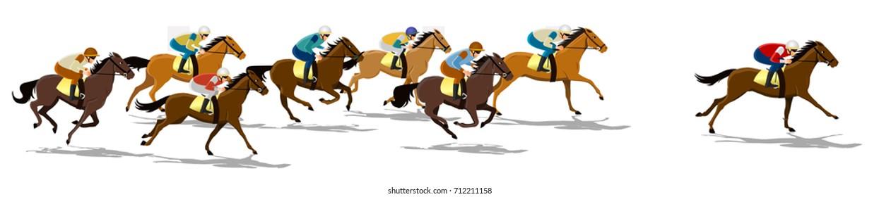 Racehorse Images Stock Photos Vectors