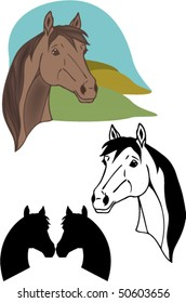 Colorful Horse Images Stock Photos Vectors
