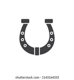 Horseshoe solid icon.