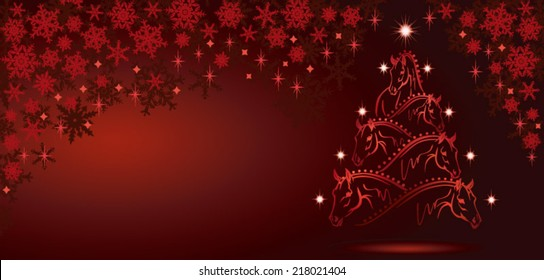Hose lovers christmas tree - long version