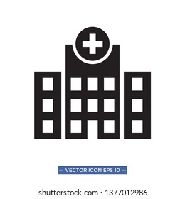 hospital icon vector illustration