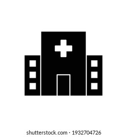hospital icon vector medical clinic sign