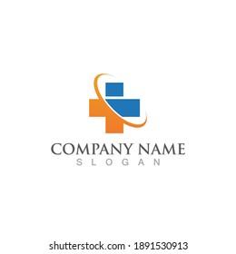 Hospital logo and symbol vector