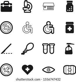 hospital vector icon set such as: hygiene, healthcare, sperm, sample, cosmetic, heart, insemination, steel, vision, pregnancy, help, drop, silhouette, eye, beautiful, look, education, knife, scalpel