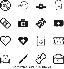 hospital vector icon set such as: building, bed, plaster, science, construction, silhouette, trendy, accident, compression, pain, ivf, evolution, urgency, color, illness, bag, dent, patch, cut, plus