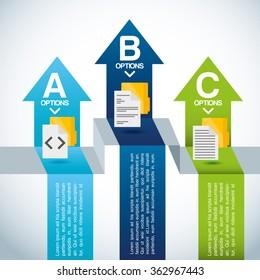 hosting infographic design